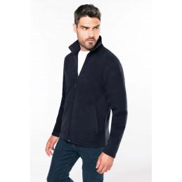 veste micropolaire zippée